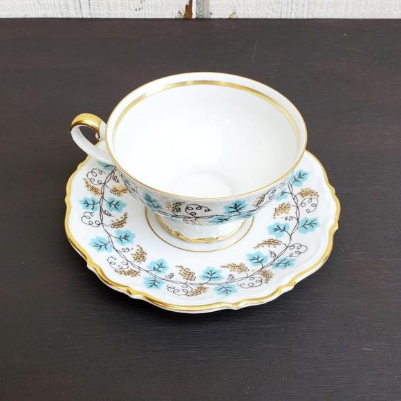 Vintage 1920s Mitterteich Tea Cup Saucer Set